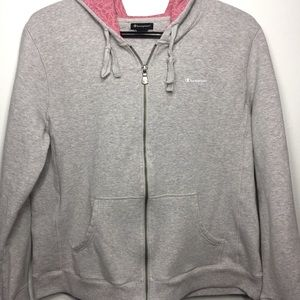 Champion zip up hoodie Sweatshirt